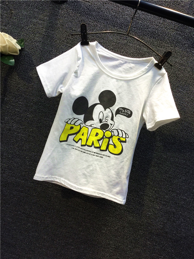 Summer season Mom And Daughter Garments Tops Mickey Household Matching Outfits Mommy And Me Outfits household matching outfits, mom and daughter garments, matching outfits,Low cost household matching outfits,Excessive High...