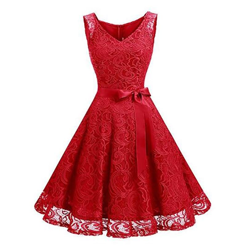 Nouveau Style chinois dentelle célébrité robes 2018 pas cher tapis rouge robes Mini Appliques grande taille vestido de festa rode loper