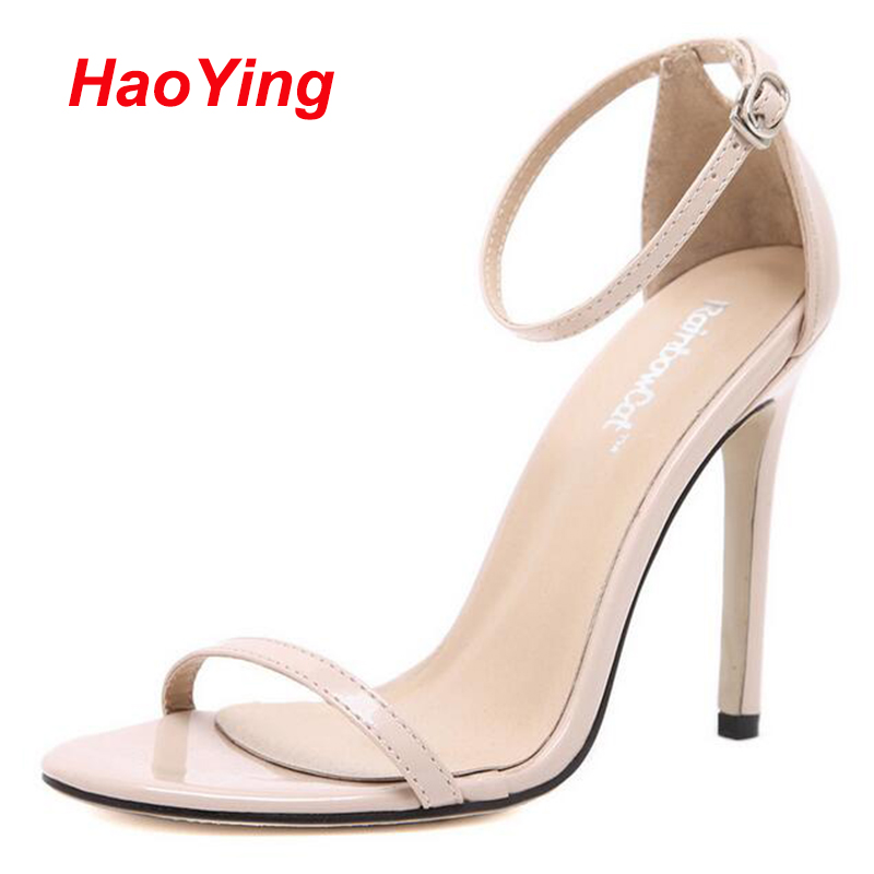 strappy heels white wedding shoes sexy high heels Gladiator ...
