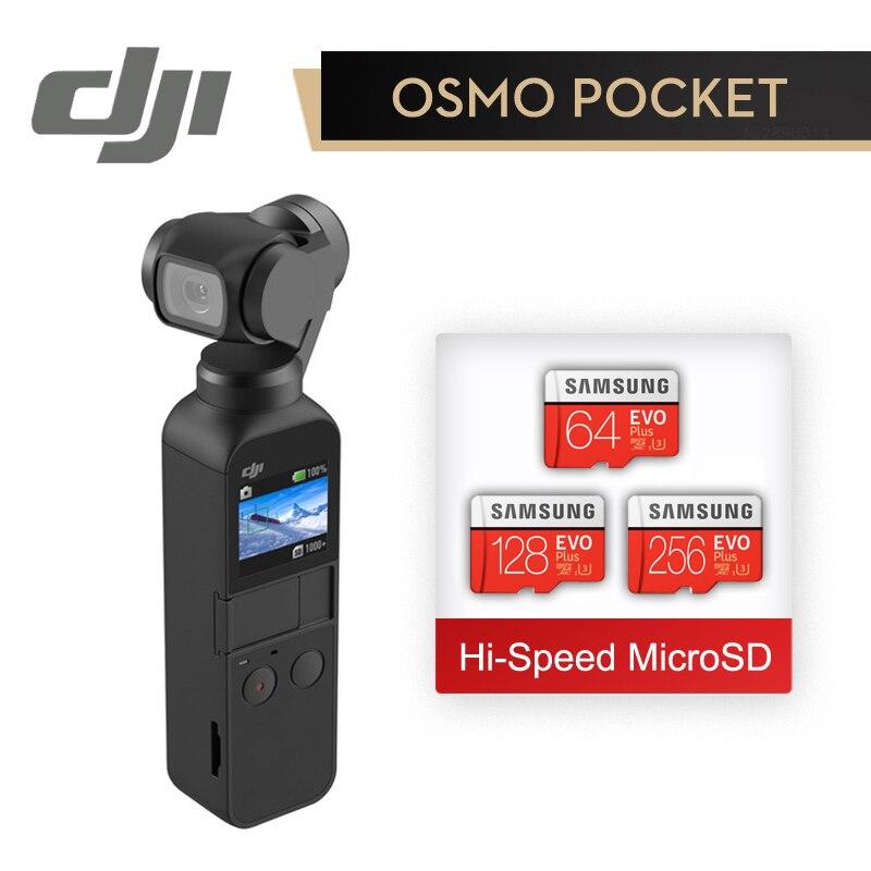 DJI Осмо карман в маленький 3 оси стабилизировалась ручной Камера с 4 K 60fps видео оригинальный бренд DJI мини Осмо