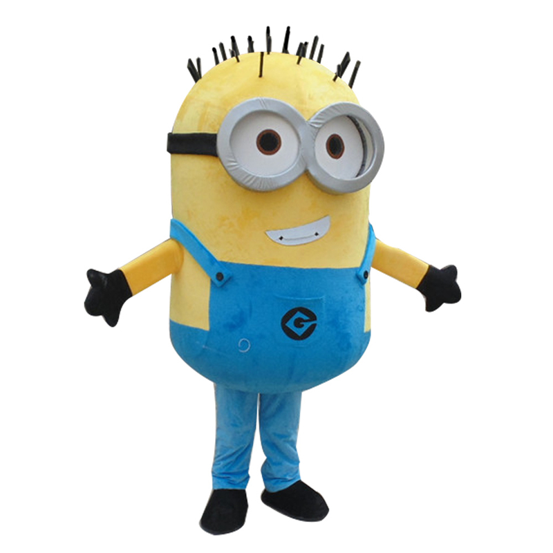 New Minions Mascot Costume EPE Fancy Dress Outfit Adult Hot Selling Anime Mascot Costume Gift For Halloween Party Free Shipping
