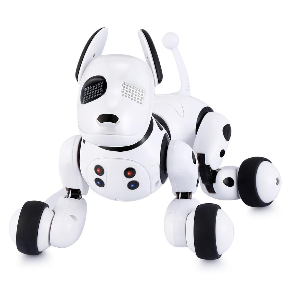 AeoFun inteligente mascotas electrónicas inteligente RC Robot perro juguete niños lindo Animal RC Robot inteligente regalo niño cumpleaños presente