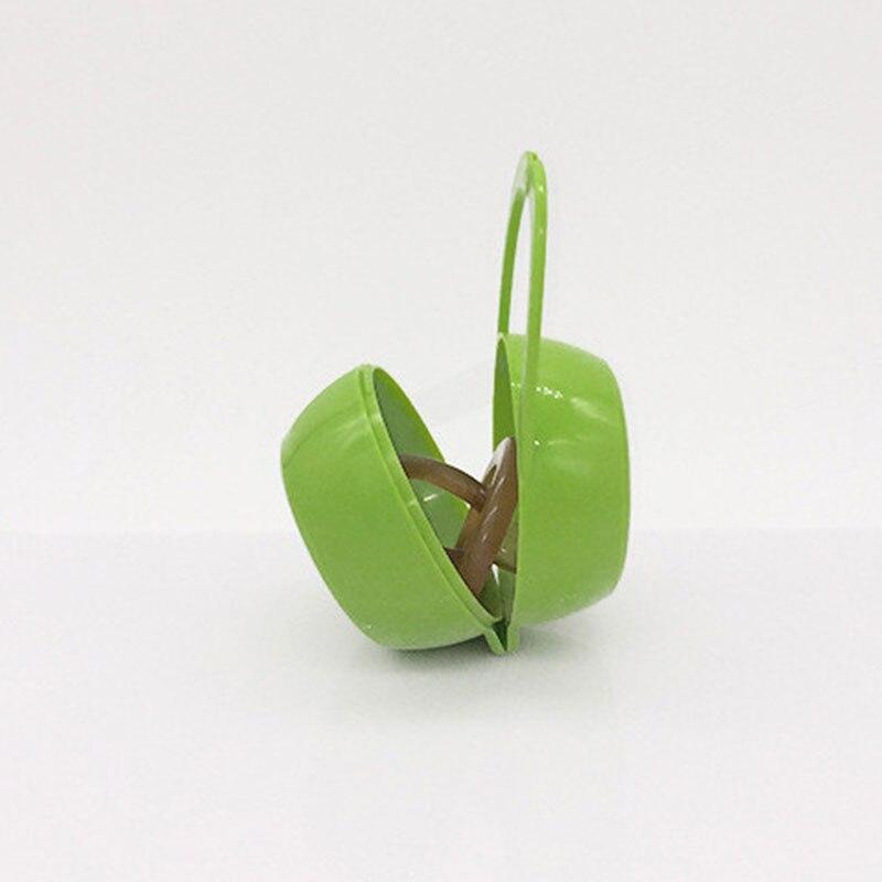 Детские Соска для младенцев держатель кольцо для соски коробка чехол для путешествий Подарок - Цвет: green