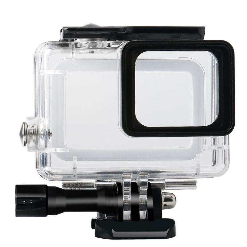 45 м водонепроницаемый глубинный водонепроницаемый корпус для дайвинга защитный чехол для камеры Gopro Hero 5 6 7 - Цвет: Белый цвет