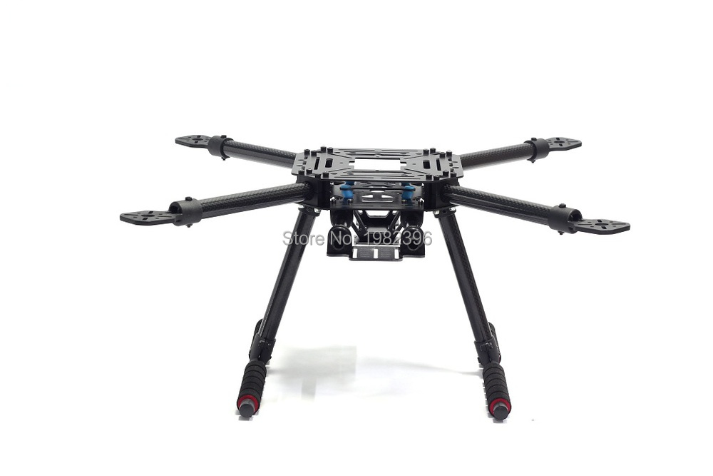 lji 500 x4 500mm carbonglass fiber quadcopter frame s500 sk500 fpv quad with
