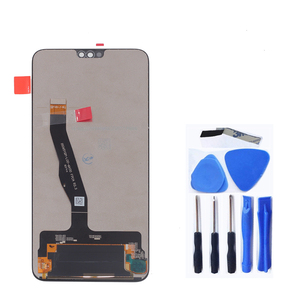 """Image 2 - 6.5"""" original display For Huawei Honor 8X JSN L21 JSN AL00 JSN L22 LCD +touch screen digitizer for honor 8 X LCD With frame"""