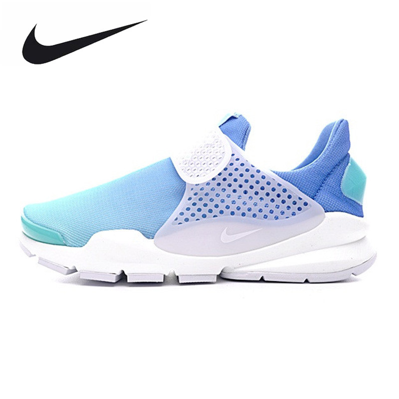 NIKE WMNS SOCK DART BR Womens Running Shoes, Light Blue/pink, Non-slip Light Breathable Sweat-absorbent 896446 800 896446 400