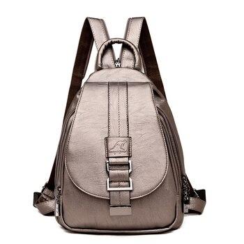 Γυναικεία δερμάτινη τσάντα ώμου ιδανική για ταξίδια Γυναικείες Τσάντες - Backpacks Τσάντες - Πορτοφόλια Αξεσουάρ MSOW