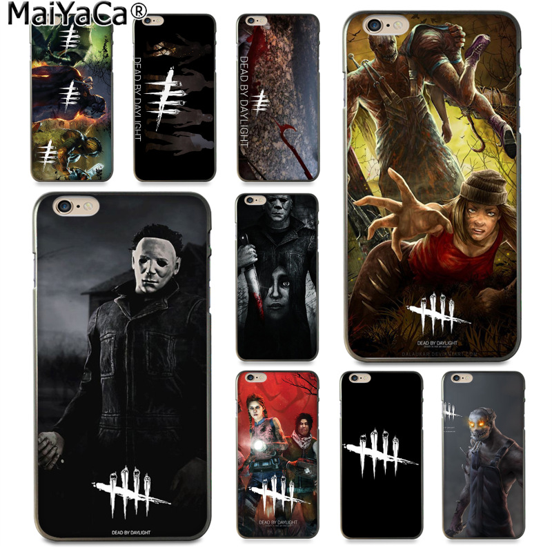 MaiYaCa horror Dead by Daylight Ultra Slim Phone <font><b>Case</b></font> Fashion Colorful Capa for <font><b>iphone</b></font> 11 pro 8 <font><b>7</b></font> 66S <font><b>Plus</b></font> X 55S <font><b>SEXS</b></font> XR XS MAX image