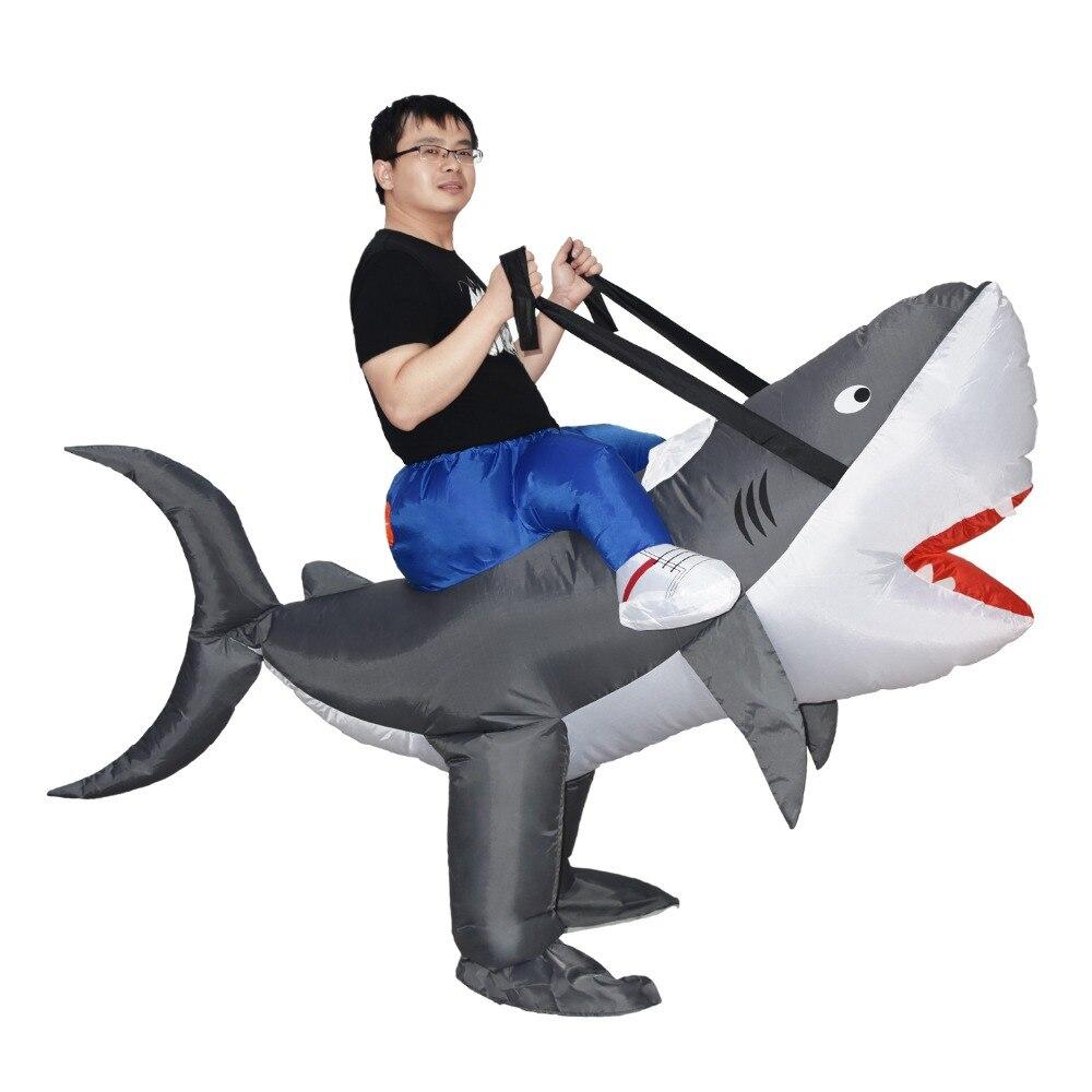 carnaval cosplay festa animal tubarão traje feminino