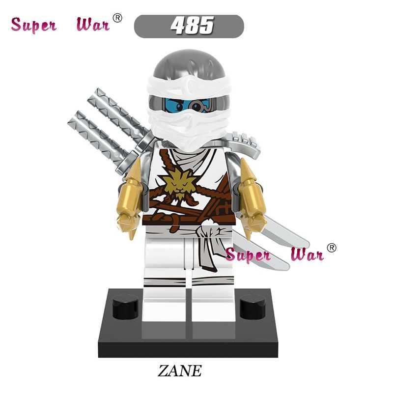 Одиночные Звездные войны Супер герои Marvel Ninja Zane титановое оружие строительные блоки модели кирпичи хобби игрушки для детей наборы подарок