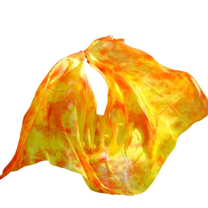 Belly Dance Veils 100% Silk Veils Handmade Gradual Color Veils Can Be Customized