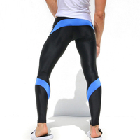 H710 Free shipping man tight trousers PRO training of track and field fitness running speed dry pants High spring sports pants