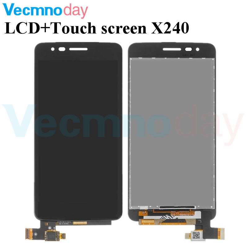 Vecmnoday Original For LG K8 2017 Dual SIM X240 X240K LCD