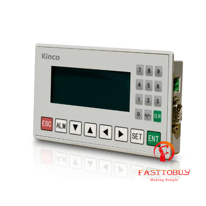 New Original Kinco 4.3 STN HMI Text Display MD204L 192*64 20 Keys with Programming Cable & Software new original pws6400f s hitech hmi mono stn lcd 3 3 240 240 1com 1year warranty