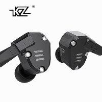 KZ ZS6 2DD 2BA Hybrid In Ear Earphone HIFI DJ Monito Running Sport Earphone Earplug