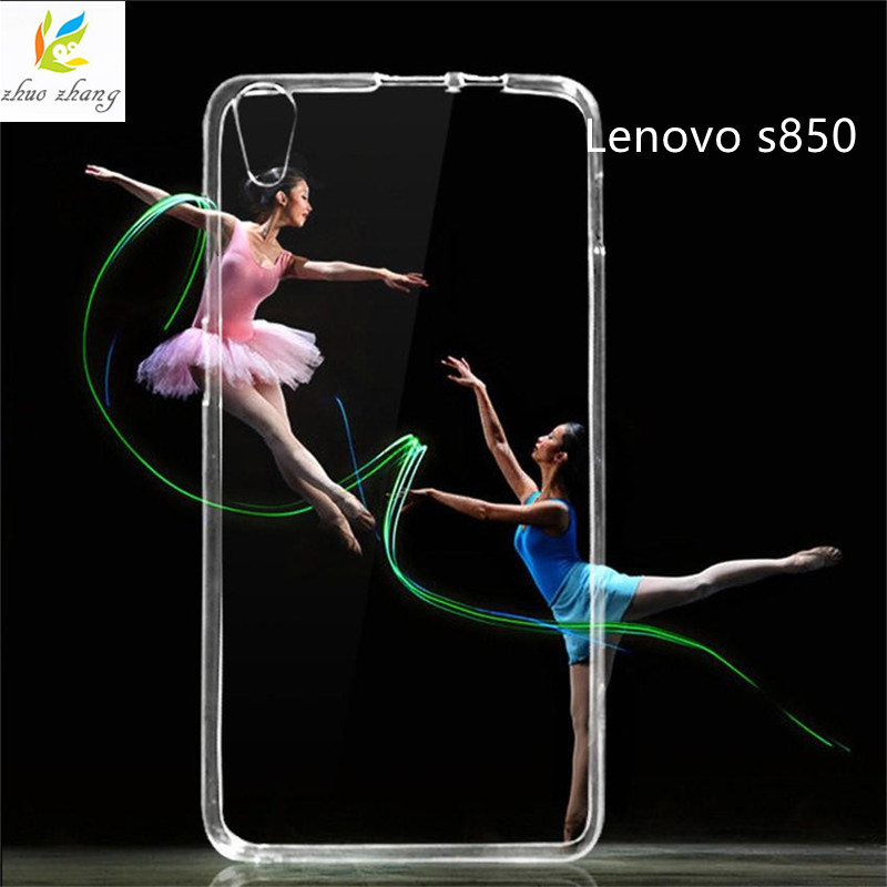 0.5mm For Lenovo S850 Case Cover Ultrathin Transparent TPU Soft Cover Protective Case For Lenovo S850 bag