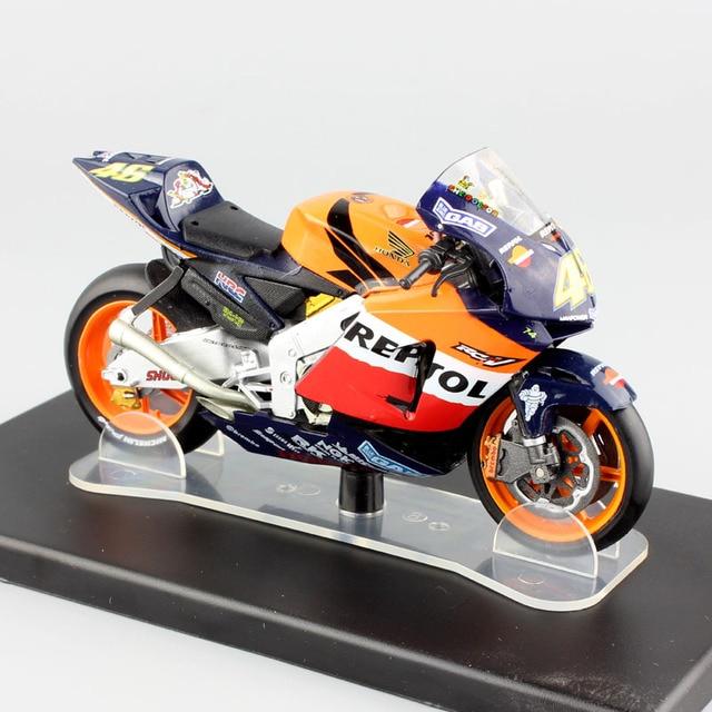 1 18 Scale Leo No 46 Rossi Honda Rc211 World Championship 2003
