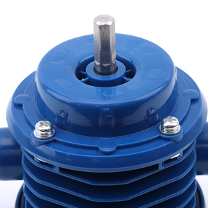 Image 4 - Bomba centrífuga autocebante azul de CC bomba centrífuga autocebante pequeña bomba de agua de taladro eléctrico manual de bombeo