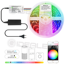 Smart rgbcct led strip light zigbee hub controller 12V color Changing work with and Amazon Echo Plus dimmable