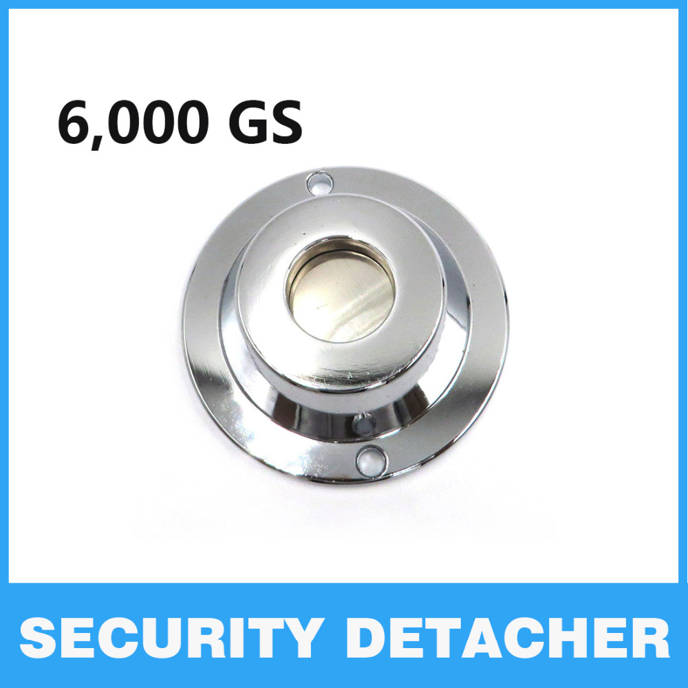 High Quality Popular EAS System 6,000GS Magnetic Security Detacher Tag Remover Universal Supermarket EAS Opener Security Alarm 20000gs golf detacher security tag remover opener unlock eas tag detacher anti theft unlocking device strong magnetic force