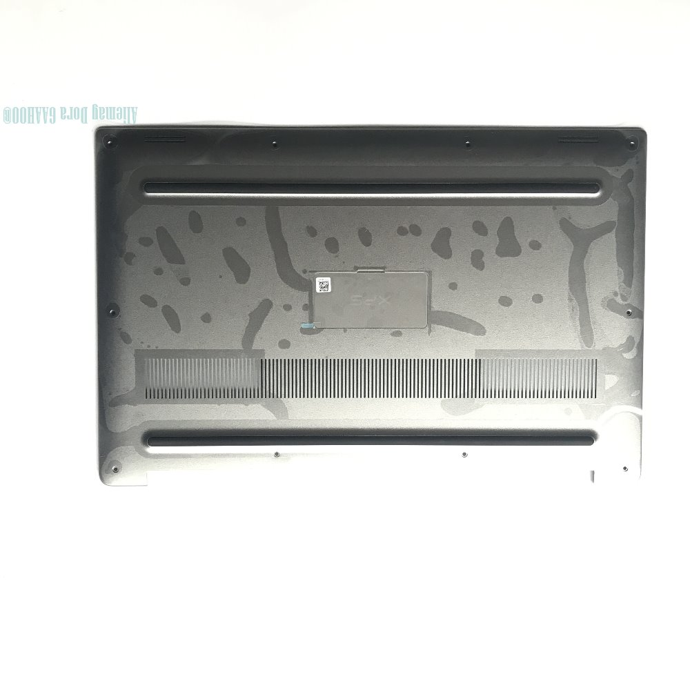 Brand new original laptop case For Dell XPS15 9550 9560 9570 Bottom case cover big door /w Myla and Nameplate 5R1JP 05R1JP