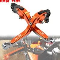 Suitable for KTM 790 Duke 2018 2019 790Duke Duke790 CNC aluminum alloy Adjustable folding retractable folding brake clutch lever