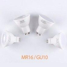 Bombillas Led GU10 Sopt Light Energy Saving 5W 7W Replace Halogen Lamp GU5.3 LED Spotlight Bulb AC 220V For Kitchen Living Room