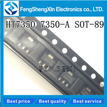 50pcs/lot  HT7350 HT7350-1 7350-A HT7350A-1 SOT-89 Low Power Consumption LDO