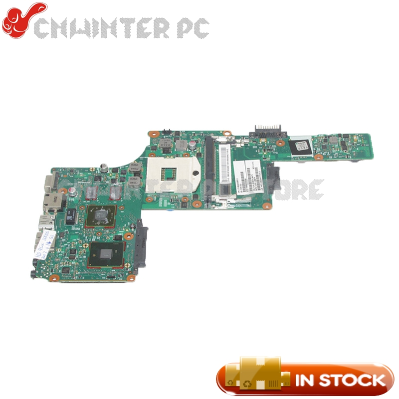 NOKOTION V000245020 6050A2338501 MAIN BOARD For Toshiba Satellite L630 Laptop Motherboard HM55 DDR3 With Video card sheli v000275560 laptop motherboard for toshiba satellite c850 c855 l850 l855 6050a2541801 uma hd 4000 hm76 main board works