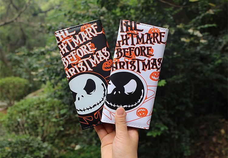 Wallet Jack SallyThe Nightmare Before Christmas  (2)