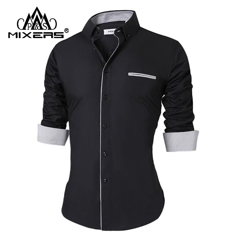 Elegant Formal Long Sleeve Shirt for Men