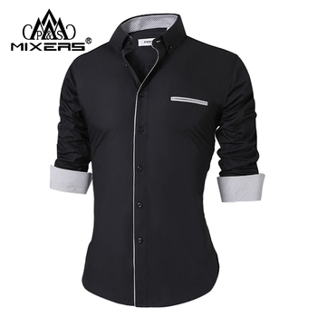 Elegant Formal Long Sleeve Shirt for Men