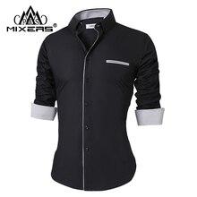 2018 New Men's Casual Shirts Long Sleeve Fashion Casual Shirt
