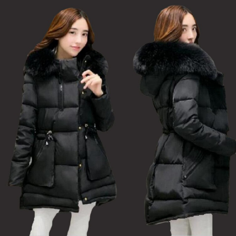 women winter coat 2017 new Korean version of thecoat female self-cultivation of long-sleeved cotton coat Parkas women winter 2017 korean version of the thickening of female workers in the long coat lambskin coat winter coat large size coat