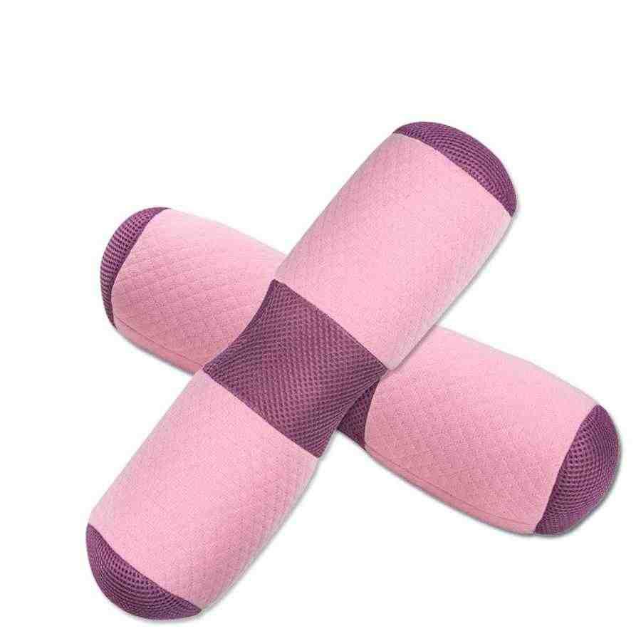Mutifunction Yoga Taille Nek Kussen Rebound Ademend Doek Memory Foam Kussen Cervicale Gezondheidszorg Pijn Release Kussen