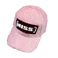 Feitong 2018 Women Baseball Cap Men Snapback Caps Brand Fashion Print Miss Letters Black Hip Hop