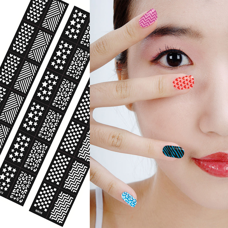 Templates  Templates: 1Pcs Amazing DIY Halloween Nail Art Ideas Nail Art Stamp Template Image Plate DIY Easy Christmas Nail Art Stamping Tools WJ113