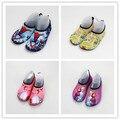 Розничные 13 Цвета Ребенок весна/осень скольжению фитнес обувь домашние тапочки босиком подводное плавание погружные обувь сандалии