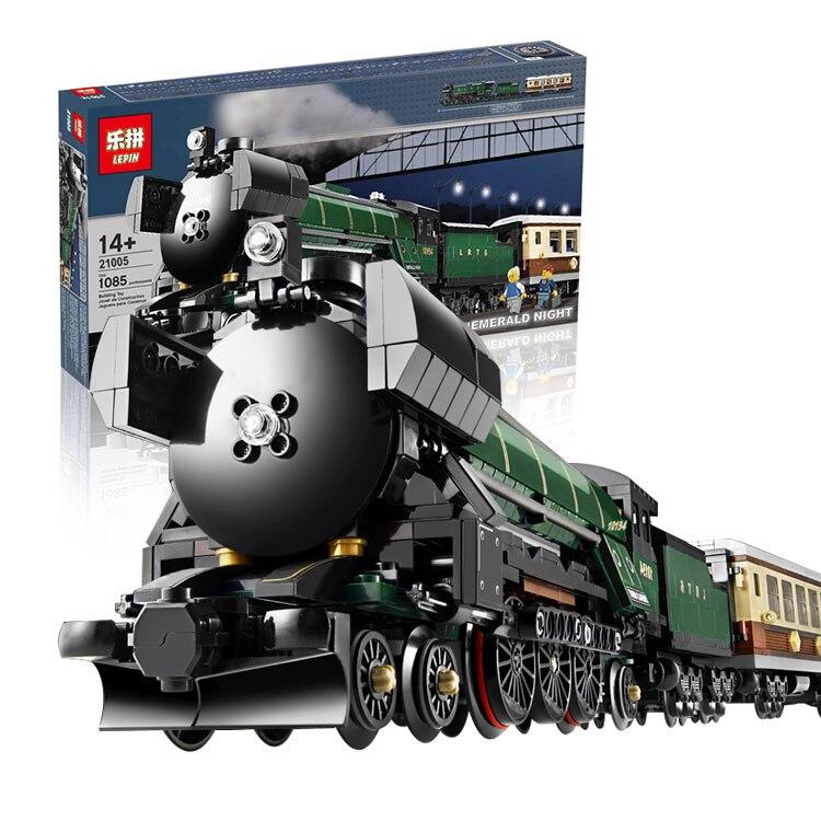 LEPIN factory DIY Building Bricks Train Kids Model Toys Children Gifts brinquedos Children Gifts 21005
