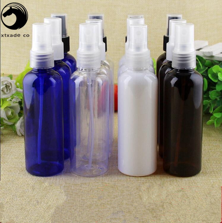 Free Shipping 100 ml Empty Plastic Spray Perfume Bottles New Style Parfume Cosmetic Water Pack Empty Cosmetic Containers