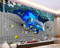 beibehang-3d-stereo-wallpaper-underwater-world-interior-home-decoration-painting-tv-backdrop-wall-papel-de-parede-3d-wallpaper