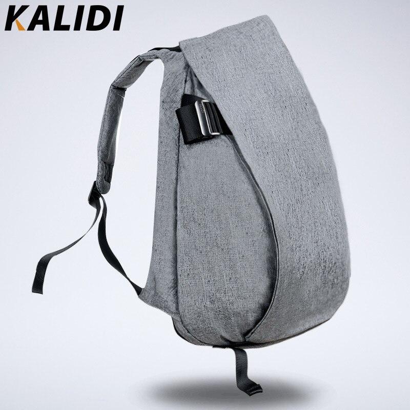 Kalidi 2016 Водонепроницаемый 15.6 дюймовый ноутбук рюкзак 14 дюймов Тетрадь сумка Для мужчин Рюкзаки BOLSOS Para ordenador для MacBook Pro 15 серый ...