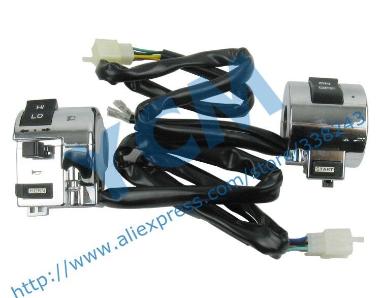 Scooter chino Interruptor de combinación Interruptor izquierdo y - Accesorios y repuestos para motocicletas