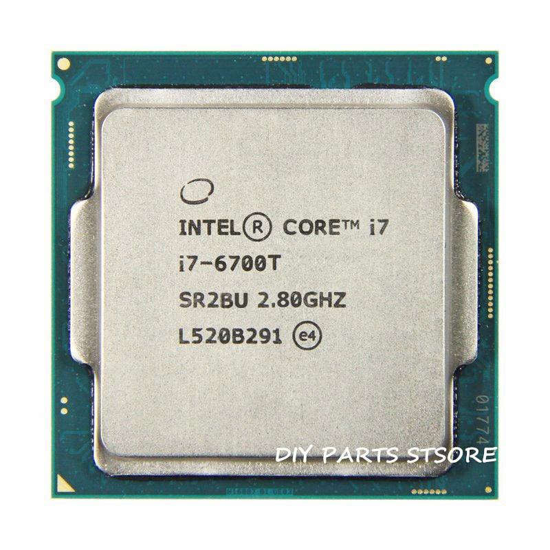 Intel Core Quad-core I7-6700T I7 6700T 4 Croe LGA 1151 3.20GHz 6M RAM DDR3L-1333, DDR3L-1600 DDR4 GPU HD530