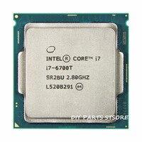 Intel core Quad core I7 6700T I7 6700T 4 Croe LGA 1151 3.20GHz 6M RAM DDR3L 1333, DDR3L 1600 DDR4 GPU HD530