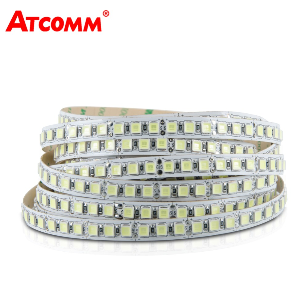 600 LED Diode Strip Light SMD 5054 120 LEDs/m 12V 5 Meters Flexible LED Tape Light IP65 IP68 Waterproof Diode Ribbon