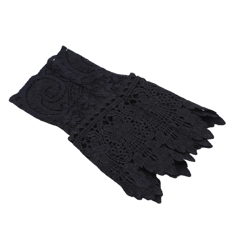 Women Fake Arm Sleeves Organ Pleated Cuff Korean Beautiful Goddess Lace Hollow Hook Accessories Outdoor Apparel Arm Warmers NEW