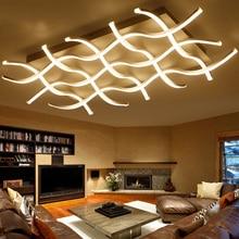 Llevado moderno para salón comedor dormitorio araña luces lustre luminaria led lámparas de iluminación de la lámpara