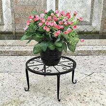 Metal Potted Shelf Flower Pot Indoor Outdoor Plant Stand Succulent Plants Flower Base Holder Rack Garden Home Holder Decor